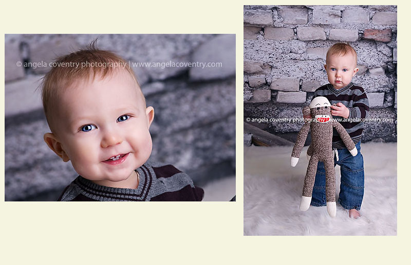 Brady turns 1 – Detroit Baby Photographer