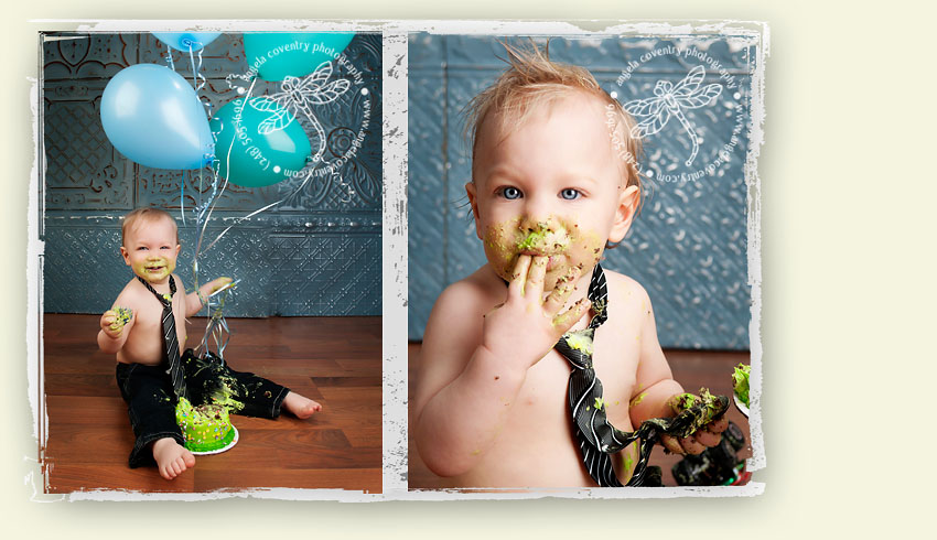 one year boy cake photography pictures