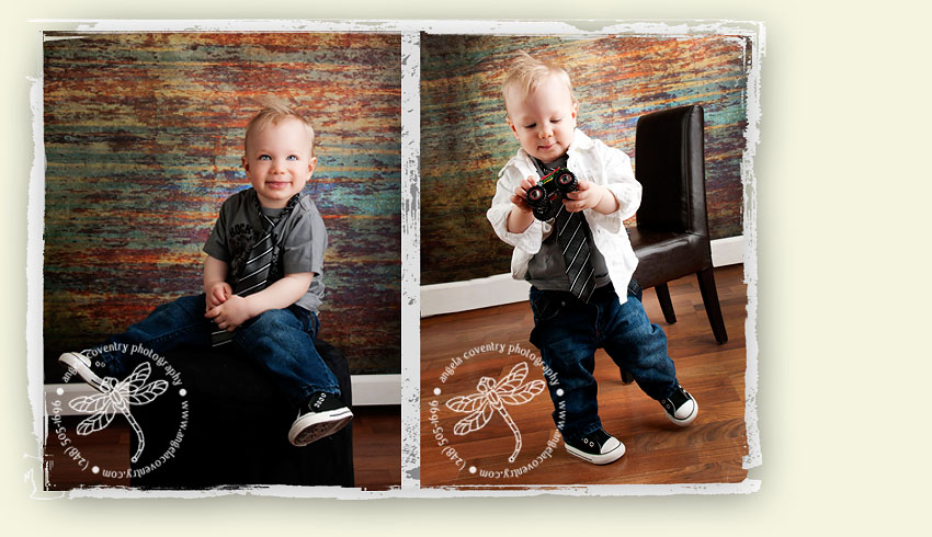 one year boy picture ideas
