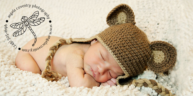Royal Oak Newborn Photography – Little bear