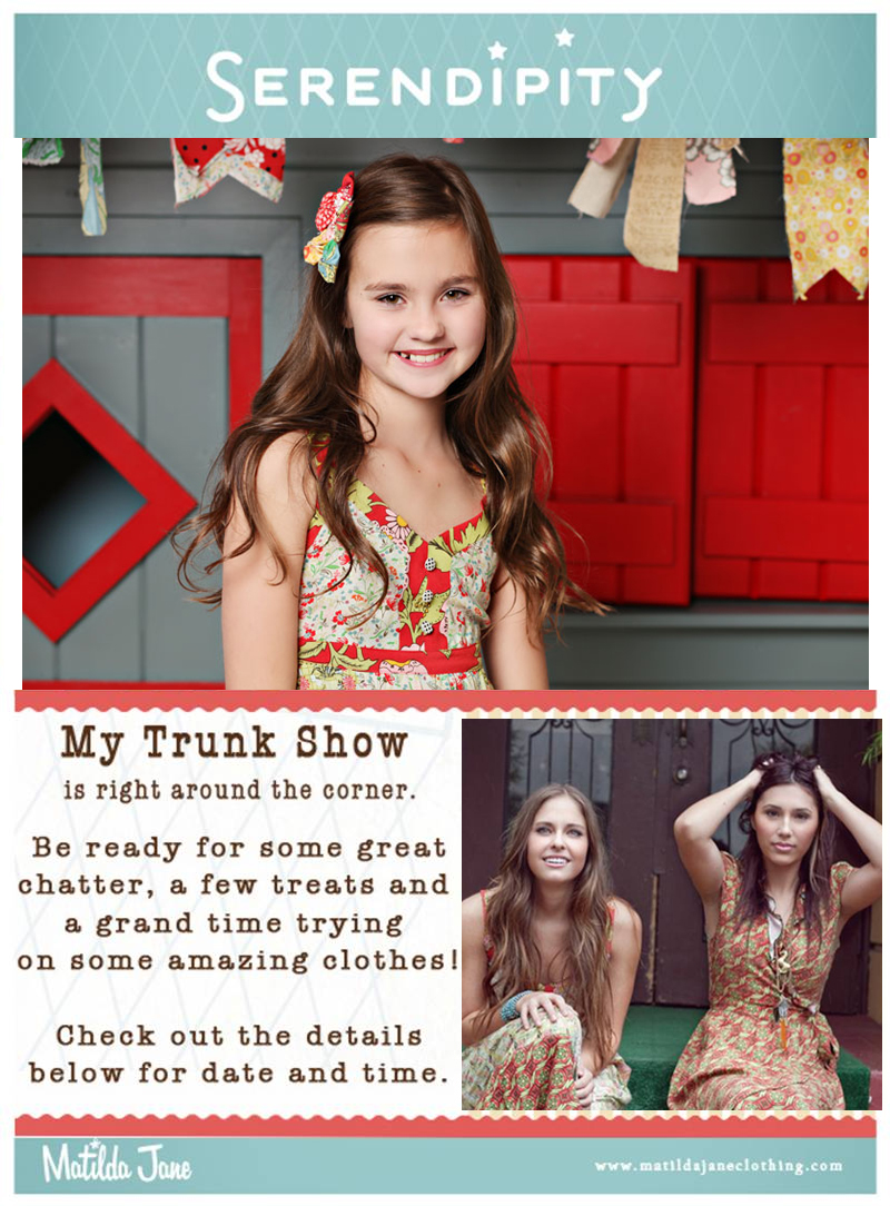 Matilda Jane – Serendipity Release 2 Virtual Trunk Show
