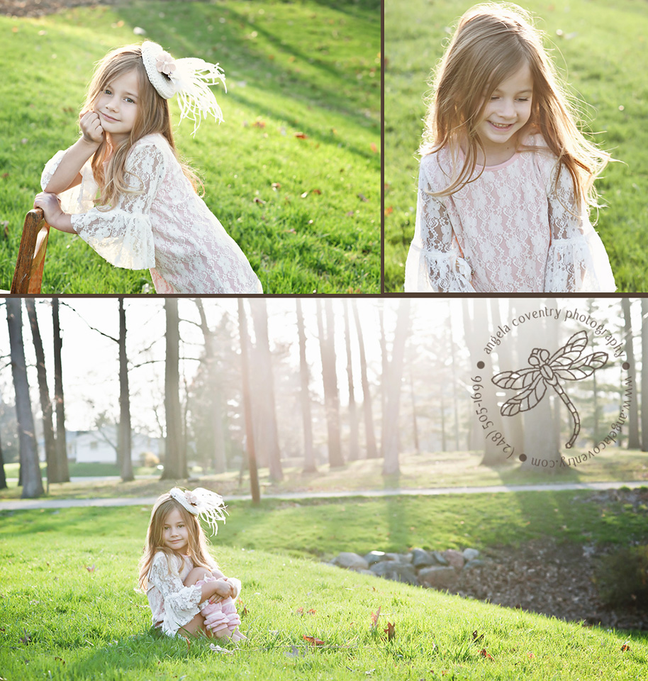Michigan Child Photography – Brielle, Happy 5th Birthday