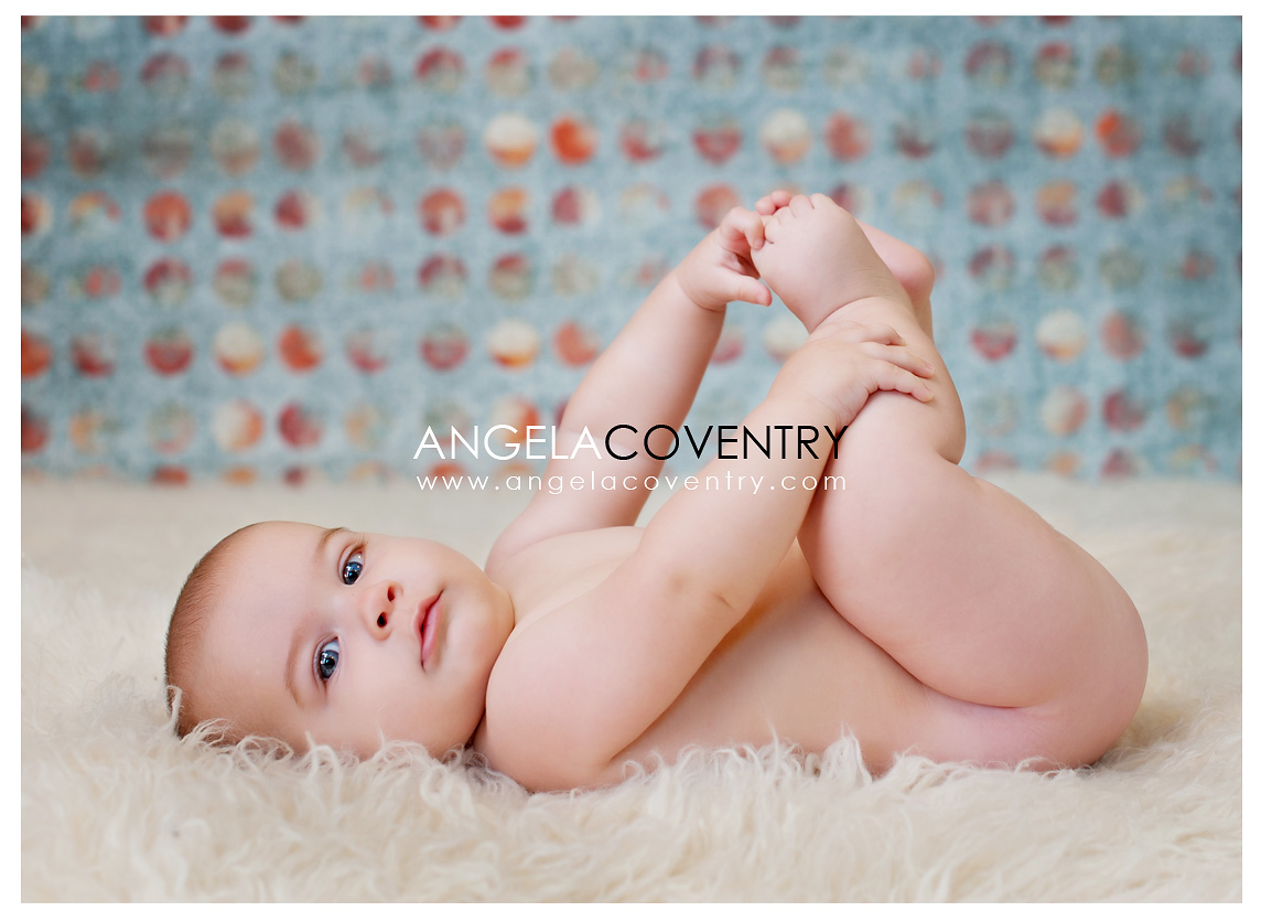 Rochester Hills Baby Photography – Tyler's 6 month photos