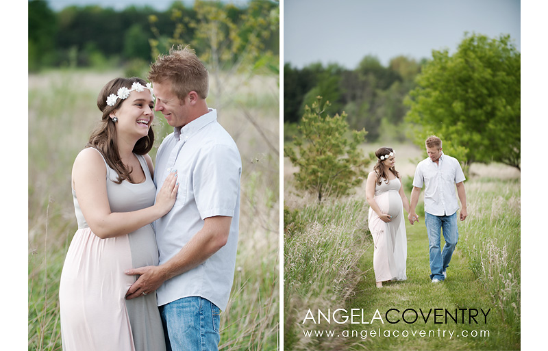 lifestyle maternity photo session lake orion michigan