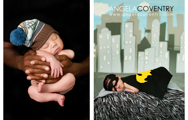 newborn batman photo prop