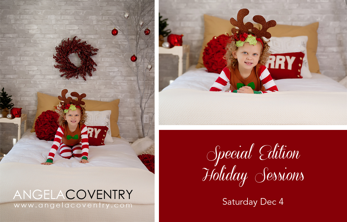 Special Edition Holiday Session – Lake Orion Photographer