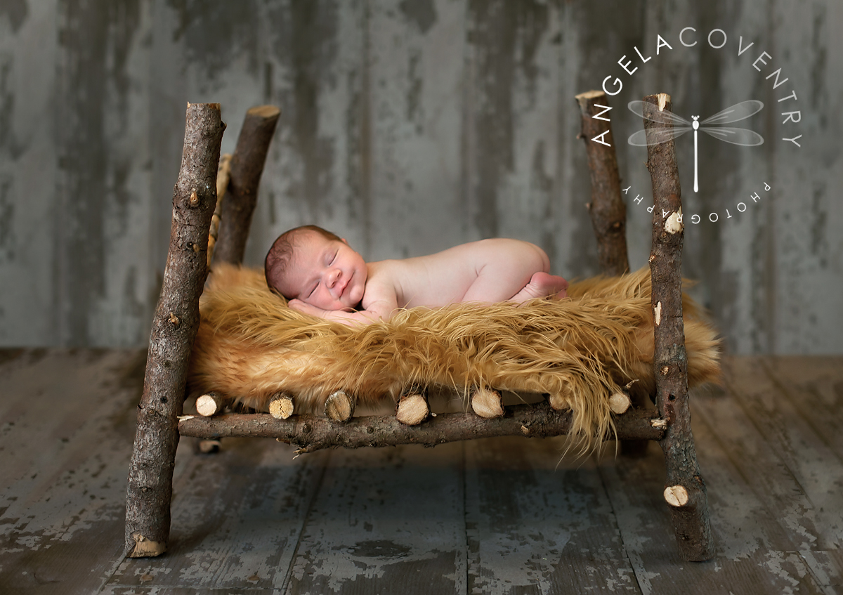 lake_orion_newborn_photographer_log_bed